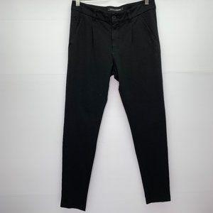 European Culture 27 Black Pants Cotton Stretch